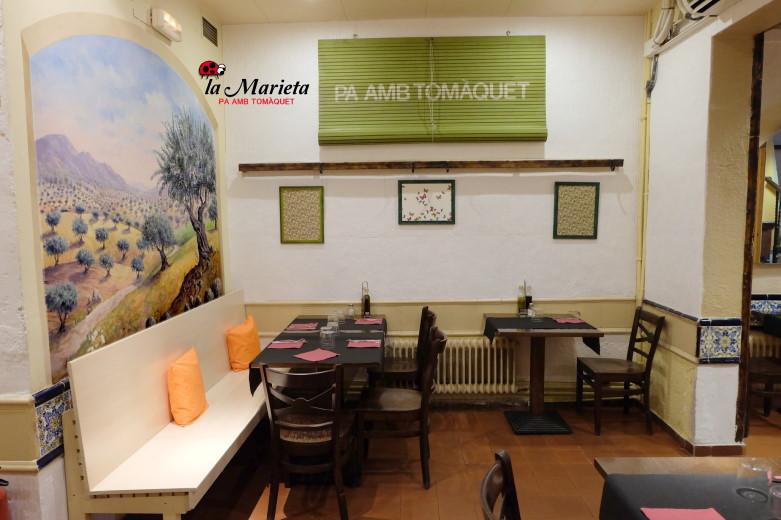 Restaurante La Marieta, Mollet del Vallès, Barcelona, cenas de empresa, menús especiales para grupos
