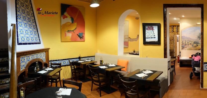 Restaurant La Marieta, Mollet del Vallès, Barcelona, cenas de empresa, menús especiales para grupos