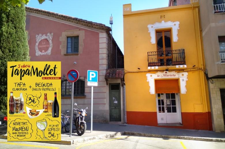 Restaurant La Marieta, Tapa Mollet, íntimo y familiar, aniversarios,cenas románticas, cenas de empresa y celebraciones en Mollet del Vallès, Barcelona