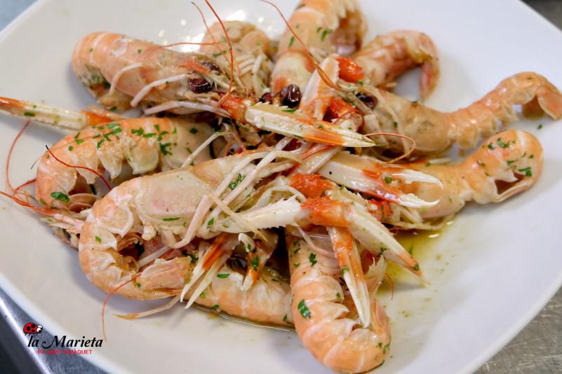 Restaurante La Marieta,Mollet del Valles, Barcelona, íntimo y familiar,especialistas en arroces y carnes , Menú degustación