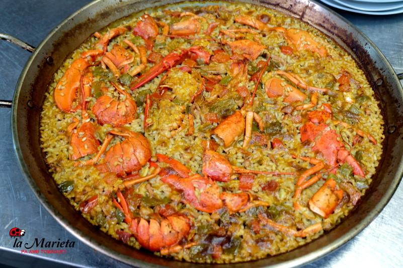 Restaurante La Marieta,Mollet del Valles, Barcelona , Menú degustación. Todos los viernes 25€ y los sábados 30€ incluye mariscada