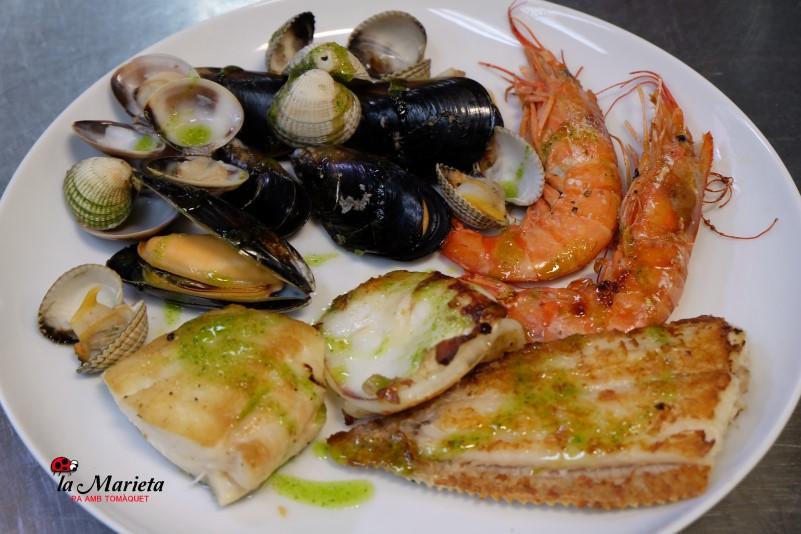 Restaurantes Mollet, Barcelona, cocina tradicional catalana La Marieta, menú diario y carta