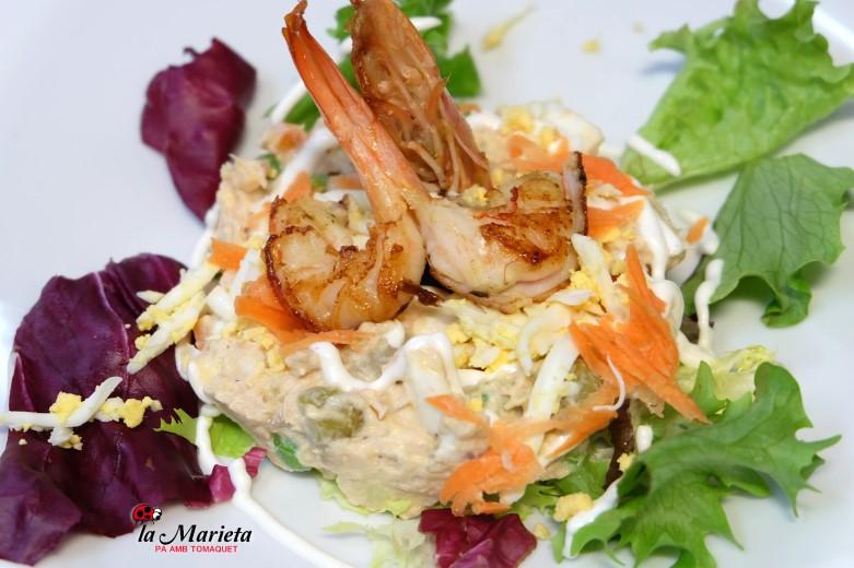 Restaurante en Mollet íntimo y familiar, cocina catalana La Marieta.