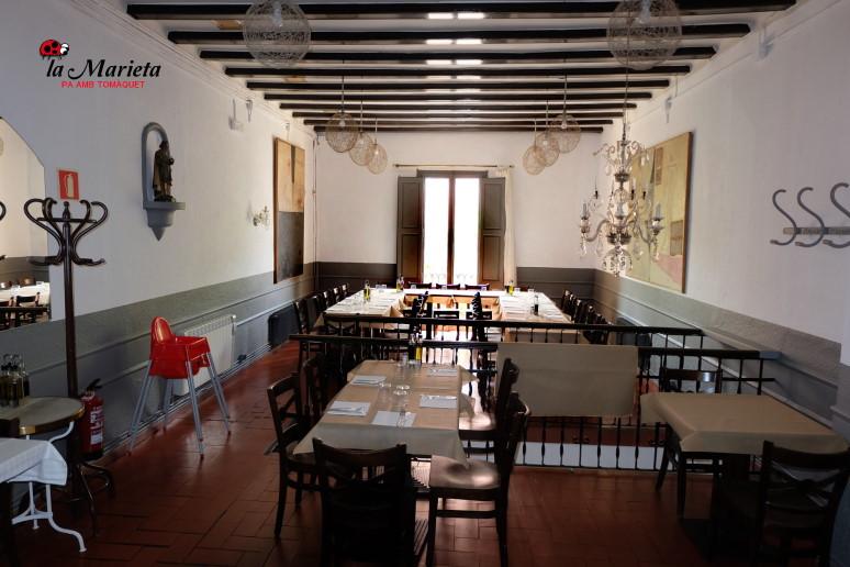 Restaurante La Marieta,Mollet del Valles, Barcelona,12,50€ menú del día, menú degustación, comer y cenar en Mollet