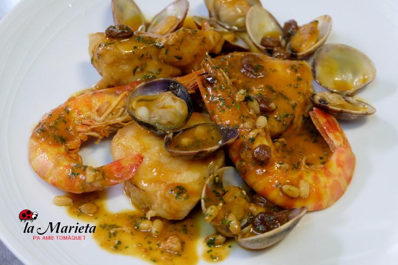 Para cenar en Mollet del Vallès, Barcelona, restaurante la Marieta íntimo y familiar