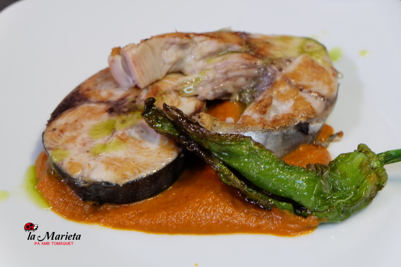 Menú del diario en Mollet del Vallès,Barcelona, restaurant la Marieta, cocina catalana tradicional