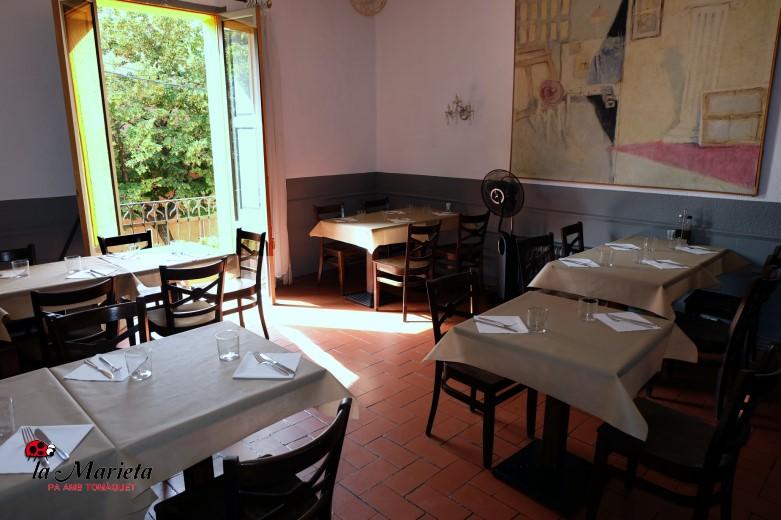 Restaurante para grupos, menú especial, reserva concertada, para empresas, celebraciones la Marieta, Mollet,Barcelona