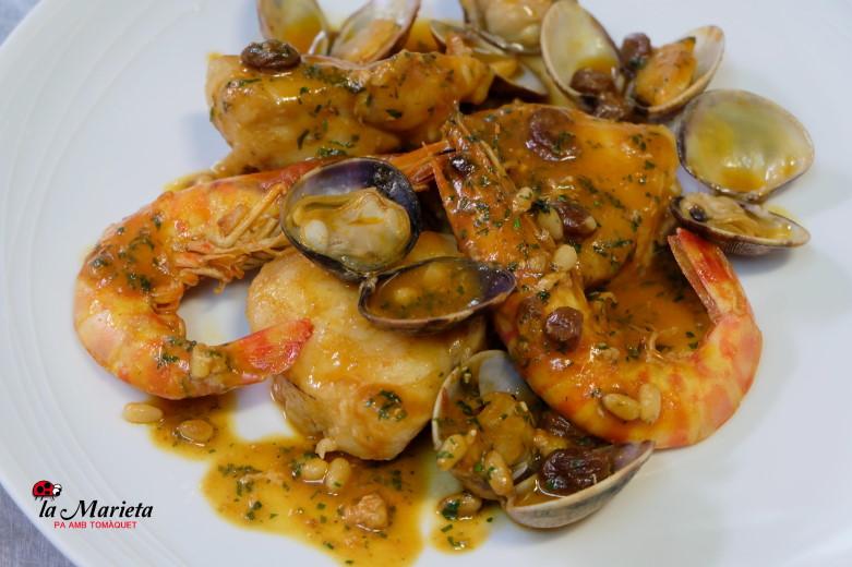 Restaurantes cerca de aquí en Mollet, la Marieta cocina catalana y vasca tradicional