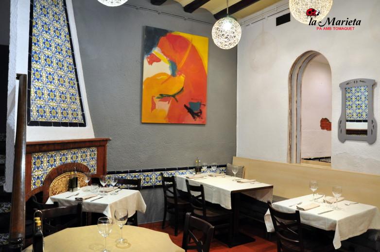 Los mejores platos de arroz en Menú del día, a 13,90€ (martes descanso) la Marieta, Mollet